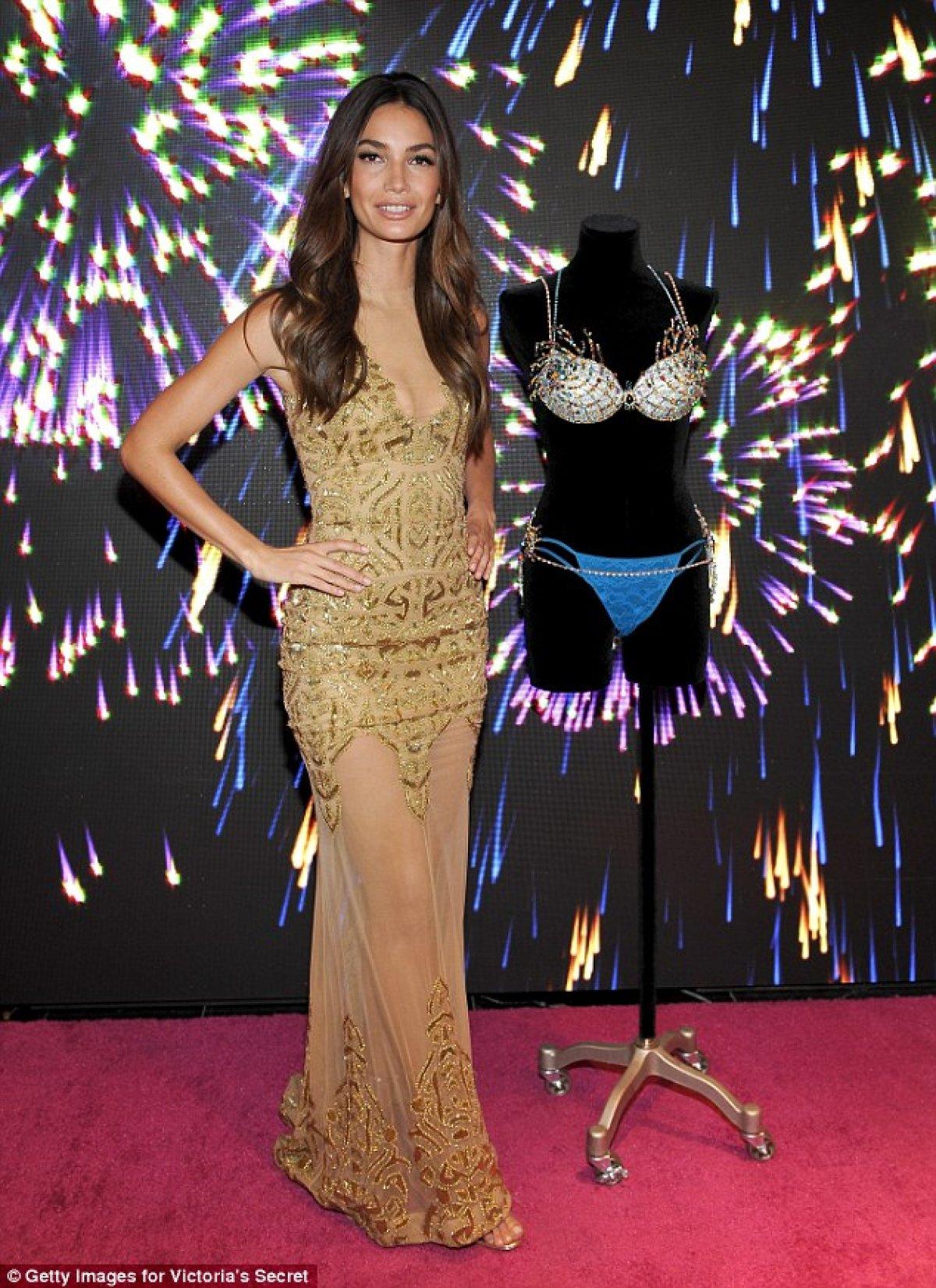 a4cb5f3fca Lily Aldridge Will Model the  2 Million Fantasy Bra at the 2015 Victoria s  Secret Fashion Show