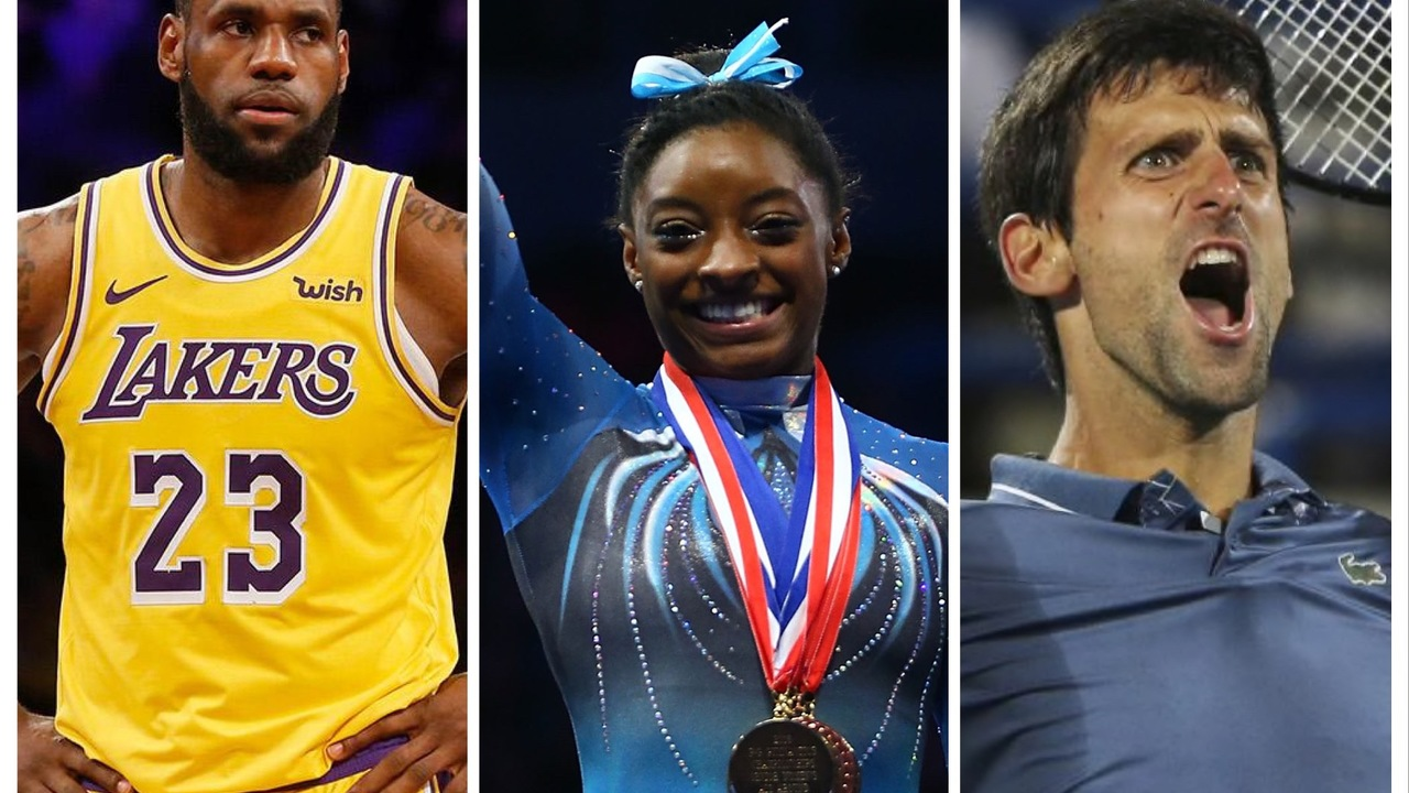 LeBron James, Simone Biles, Novak Djokovic Among Nominees at 2019 Laureus World Sports Awards