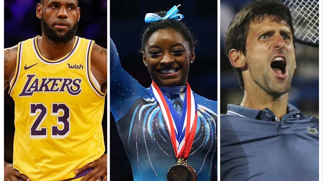 LeBron James, Simone Biles, Novak Djokovic Among Nominees at 2019 Laureus World Sports Awards