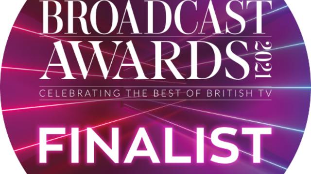 BAFTA TV Awards Nominated for a 2021 Broadcast Award!