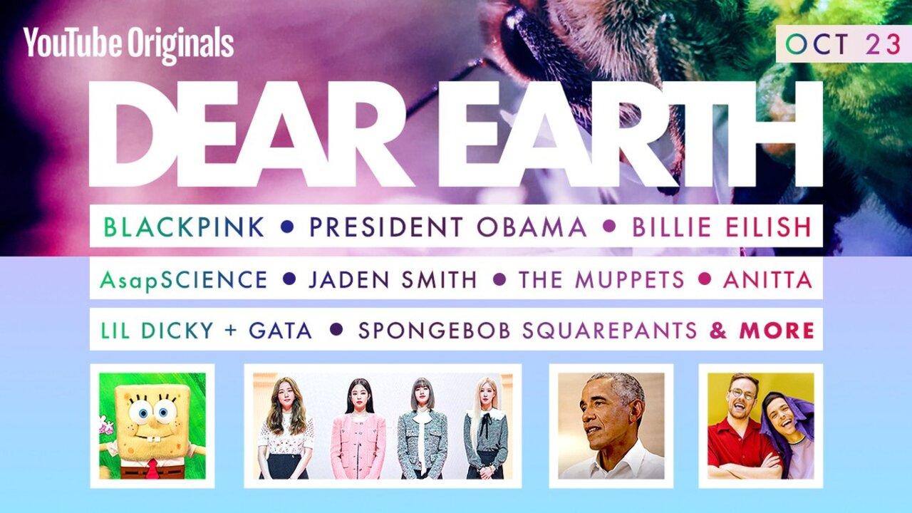 BLACKPINK, Billie Eilish & More Set for 'Dear Earth' Special with YouTube Originals