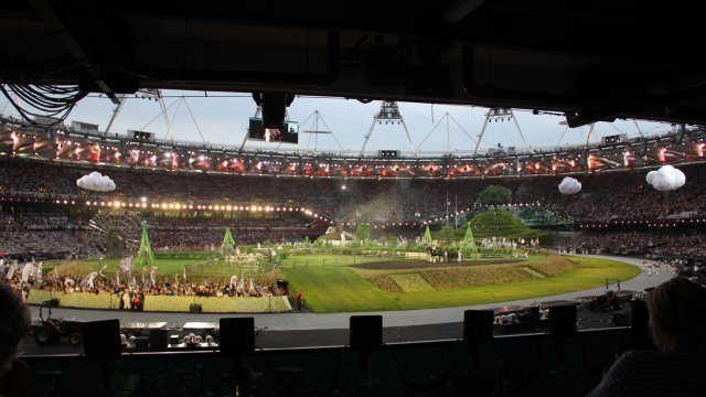 The London Olympics Opening Ceremony