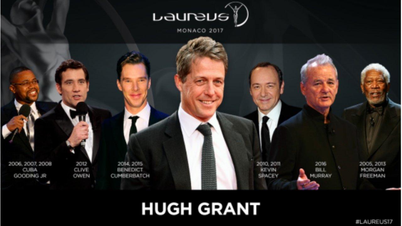 Hugh Grant to Host the 2017 Laureus Awards