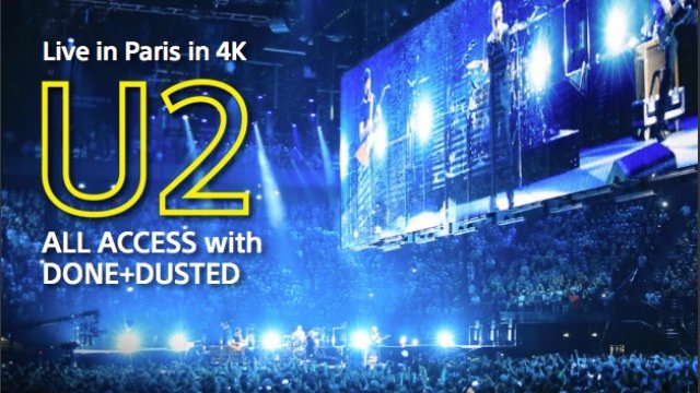 Sony takes you behind the scenes with U2 in Paris