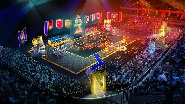 Clash Royale Crown Championship World Finals at The Copper Box Arena