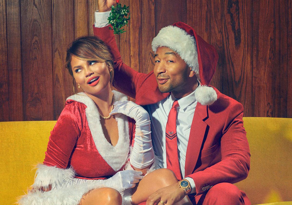 The Secret Is Out! John Legend & Chrissy Teigen To Host \'A Legendary ...