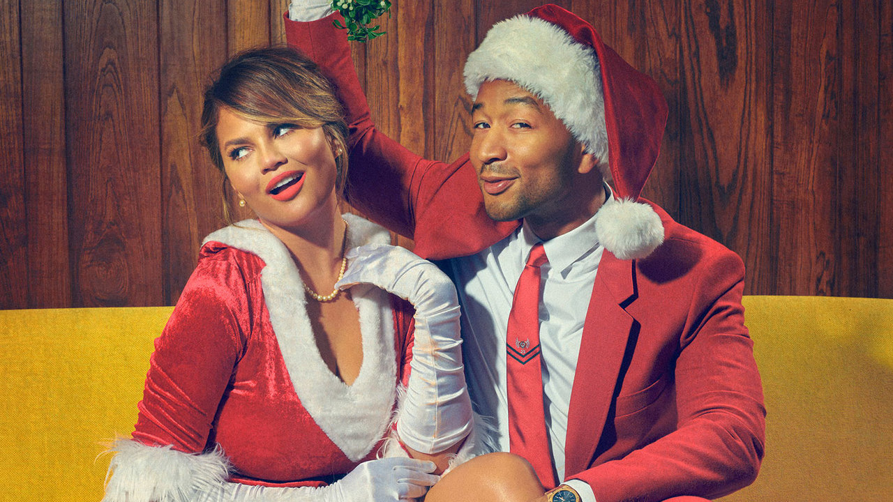 The Secret Is Out! John Legend & Chrissy Teigen To Host 'A Legendary Christmas' On NBC