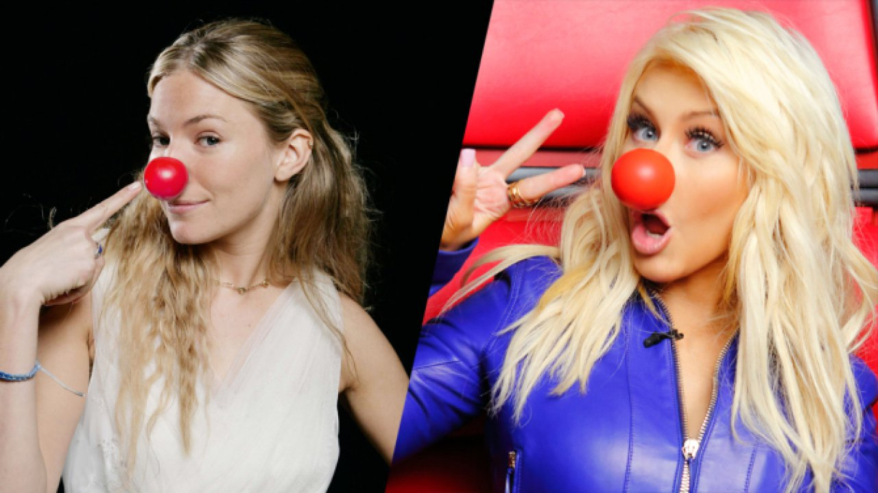 Talent flows in for Red Nose Day USA