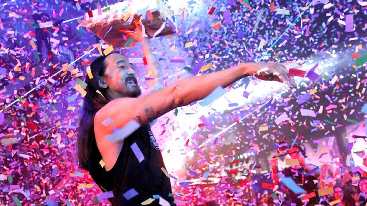 Steve Aoki takes over Wonderland