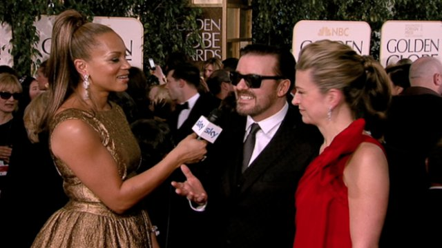 68th Golden Globe Awards Sky Red Carpet Coverage