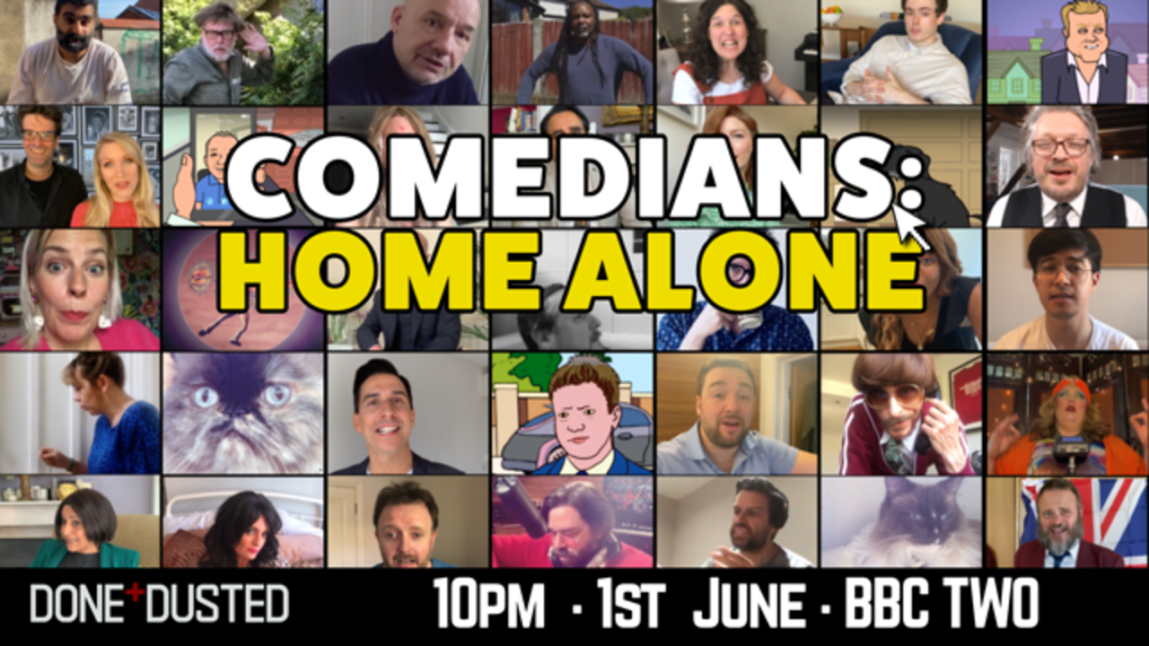 BBC's 'Comedians: Home Alone' Kicks Off June 1st