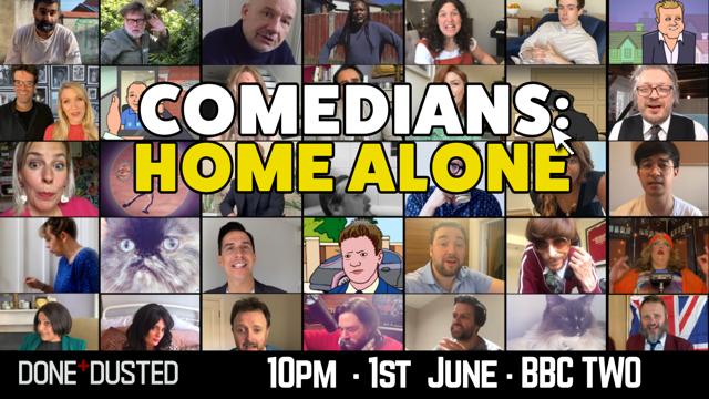 BBC's 'Comedians: Home Alone' Kicks Off June 1st