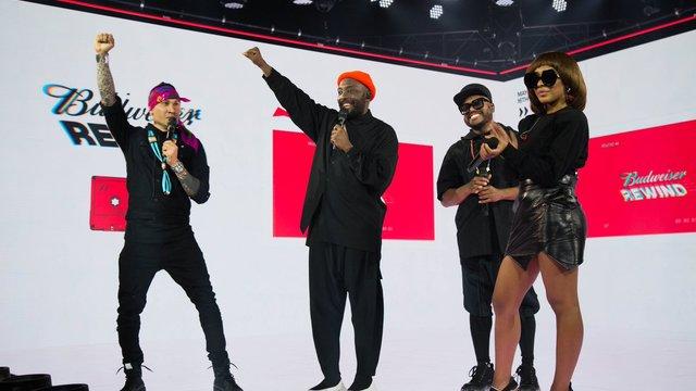 Budweiser Rewind: Black Eyed Peas