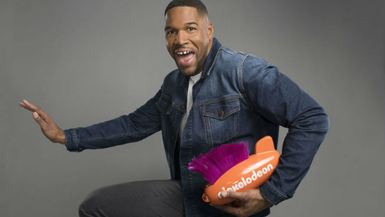 cb0f89c0e3dc Michael Strahan Returns to Host 2019 Nickelodeon Kids' Choice Sports Awards