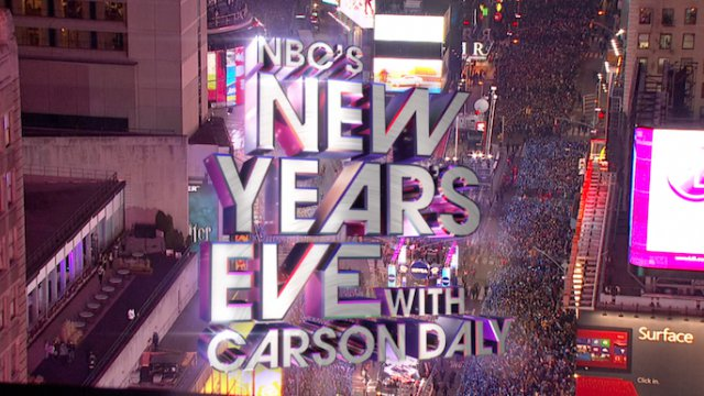 NBC's New Year's Eve 2012-13