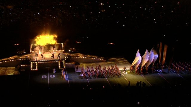 The Madonna Super Bowl Halftime Show 2012