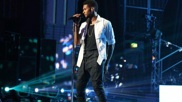 Usher Amex Unstaged